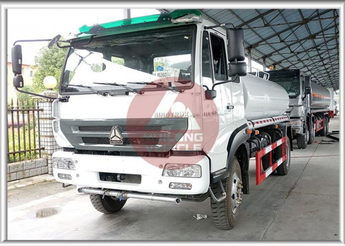 Cost Effective Water Tank Truck , Mobile Water Truck High Pressure Water Pump