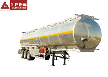 China 46000 L Full Volume Fuel Tank Trailer , High End Fuel Transfer Trailer supplier