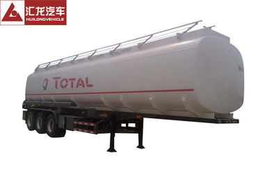 China Total Standard 10000 Gallon Fuel Tank Trailer , 45cbm Trailer Gas Tank Big Volume Anti - Corrosion Paint supplier