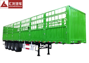 China 4 Axle Cargo Container Trailer , Container Delivery Trailer 45000kgs Carrying Volume supplier
