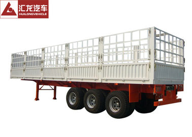 China Store House Cargo Container Trailer Leaf Spring Large Payload Solid Frame supplier