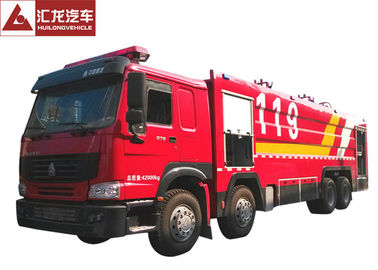 China Durable Freightliner Fire Trucks  22T Foam Integrated Extinguishing System supplier