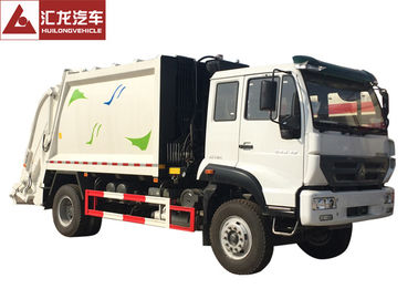 China Sinotruk Garbage Compactor Truck Transformer Street Sanitation Big Loading Capacity supplier