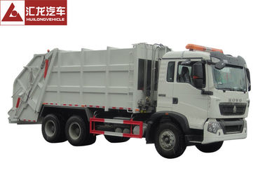 China 6x4 Garbage Compactor Truck Right Hand Drive 12CBM With Air Conditioner supplier