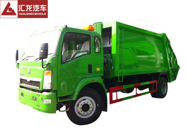 China 8500KGS 120HP Garbage Compactor Truck 1:3 Compressed Quotient High Reliability supplier