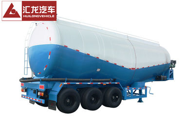 China Diesel Engine 40000 L Dry Bulk Tanker 3 Axle Bulk Cement Tanker Strong Bearing supplier