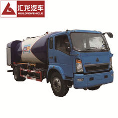 China High Safety Standard 4x2 Chassis LPG Dispenser Truck 3700mm Wheel Base supplier