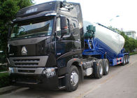 Carbon Steel Dry Bulk Trailer Y Shape 3 Axle 27cbm Volume Ntelligent Designed