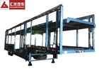 China 4 Sets Hydraulic Cylinder Auto Carrier Trailer German Suspended Tech  Submerged Arc Welding factory