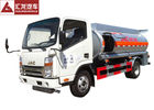 China JAC Fuel Oil Truck  6000l Container Capacity 280hp Motor Power Seamless Tank factory