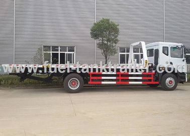 China DongFeng Flatbed Tow Truck  3 Cabin Hydraulic Cylinders For Medium Sized Cars distributor
