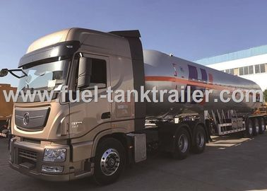 China Inline Six Cylinder 560 Hp Power LPG Tank Trailer 61.9CBM Available Capacity distributor