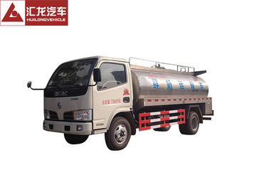 China DFAC Milk Tank Trailer  6 M³ Capacity Advanced Rotational Moulding distributor