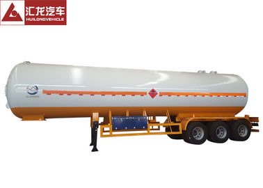 China Pressure Vessel LPG Tank Trailer Mechanical Suspension Automatically Safety Valve distributor