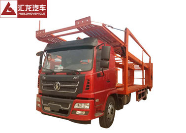 China Central Axle Car Carrier Trailer 7500kgs Payload 4x2 With ABS Chassis System distributor