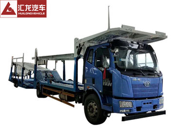 China Heavy Duty Auto Transport Trailer 325HP Diesel Engine  Hydraulic Control System distributor