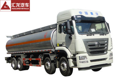 China Sinotruk Hohan Fuel Oil Truck  6x4  Wheel Spec  371 Horsepower  300L Tank distributor