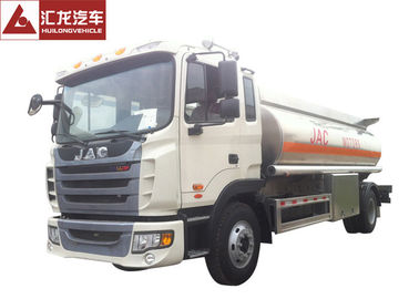 China Advanced Chassis Fuel Delivery Truck Light Tare Weight With Anti - Electro Static Pole distributor