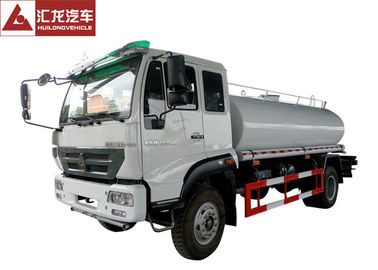 China Cost Effective Water Tank Truck , Mobile Water Truck High Pressure Water Pump distributor
