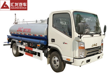 China Water Bowser Water Tank Truck Anticorrosion Rust Protection With JAC Chassis distributor
