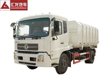 China Roll Off Refuse Compactor Truck  Single Row Cabin Hydraulic Control Hook Arm distributor