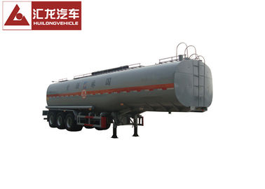 China Three Axle Chemical Tanker Trailer Chemical Transport Tanks 38000l Big Capacity distributor
