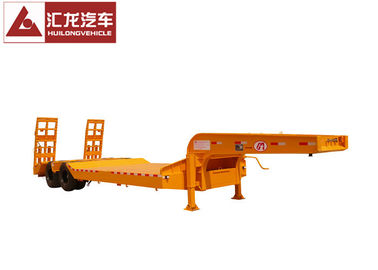 China Two Axle Heavy Duty Trailer Heavy Load Trailer For Steady Transportation distributor