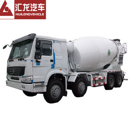 China Heavy Duty HOWO 8*4 12 CBM Mini Concrete Mixer Truck Diesel High Operating Efficiency distributor