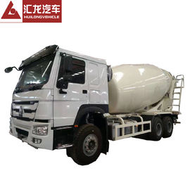 China 6*4 10m3 Mobile HOWO Concrete Mixer Truck Machine For Construction Works distributor