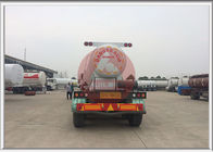 V Shape Chemical Transport Tanks  Air Suspension Good Welding Seam