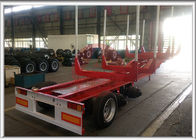 Customized Skeletal Storage Container Trailer Automatically Opened Special Mountain Tires